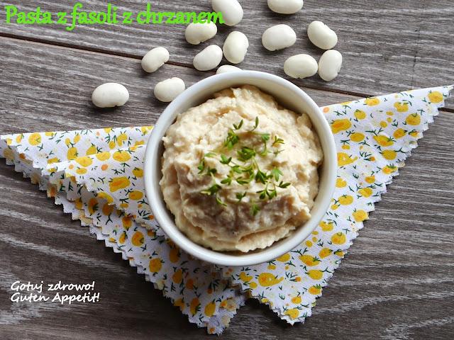 Pasta z białej fasoli z chrzanem i rzeżuchą - Czytaj więcej »