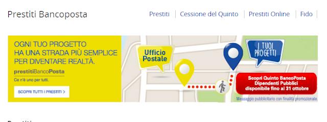 migliori Prestiti di Poste Italiane: interessi, BancoPosta, Postepay,