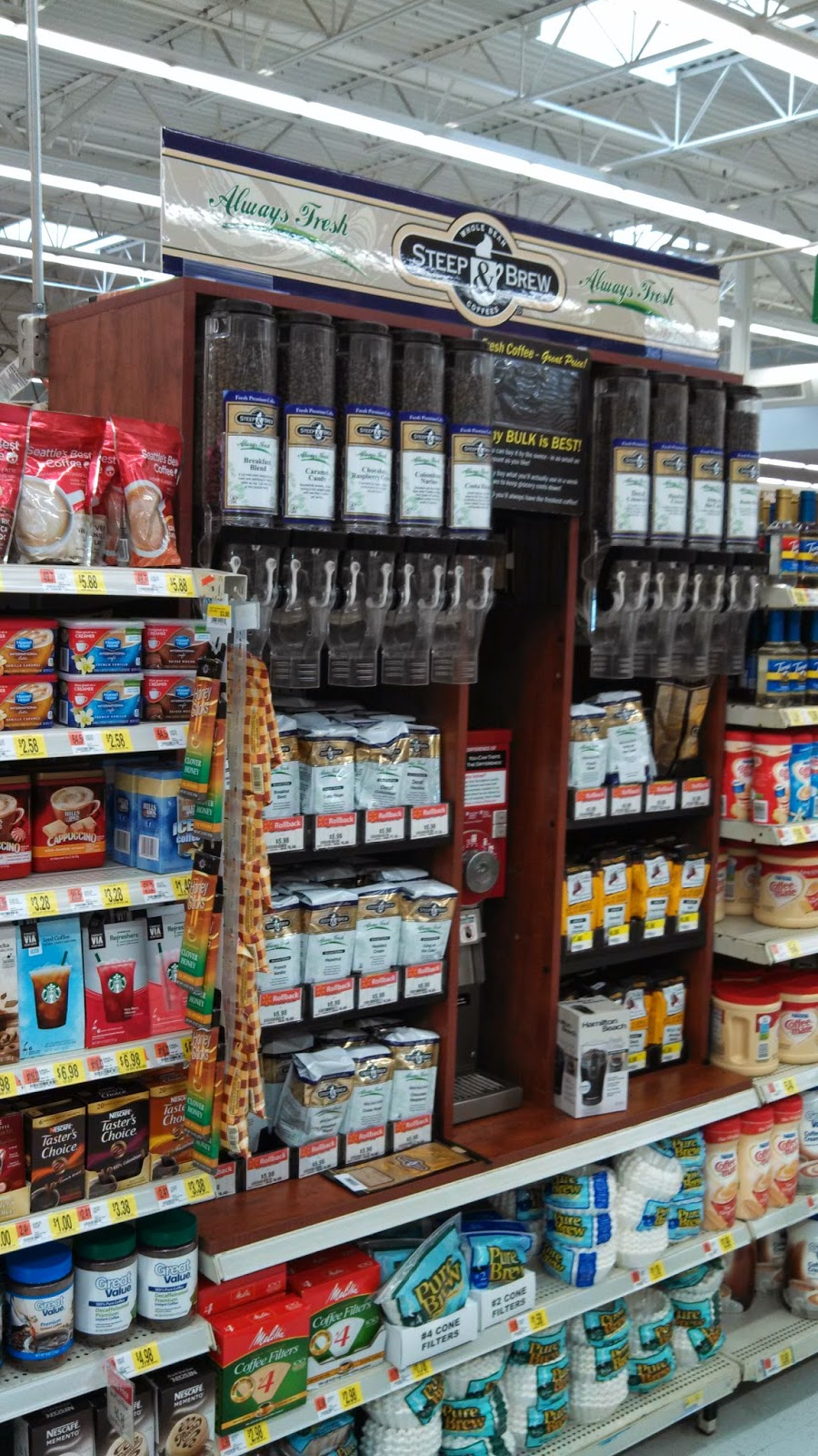 No More Coffee Beans At Walmart Coffee Maker Journal