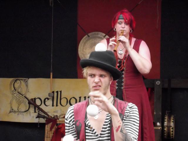 Musik und Gaukelei mit ConFilius beim Mittelaltermarkt in Bad Langensalza