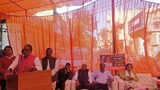 केंद्रीय राज्यमंत्री कृष्णपाल गुर्जर ने करोड़ों रुपये के विकास कार्यों का शिलान्यास व उद्घाटन किया