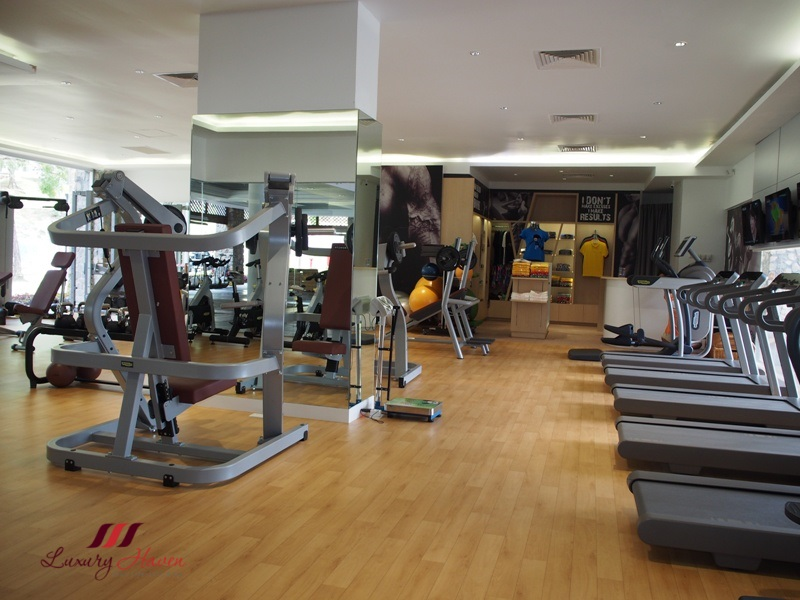 bintan lagoon resort indoor powerhouse gym review