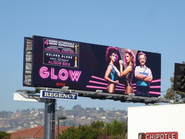 GLOW SAG Golden Globe nominations billboard
