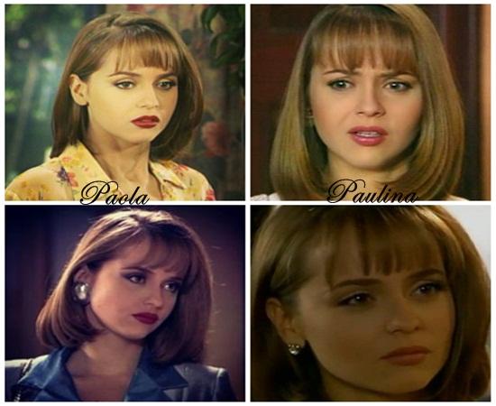 Idênticas mas totalmente diferentes Paola e Paulina
