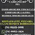 Confira o cardápio desta sexta no Restaurante, Pizzaria e Lanchonete Rodrigues
