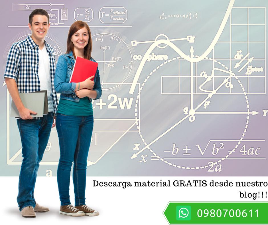 Matemáticas: Clases, resolución de tareas y guías de estudio, proyectos, software y más.
