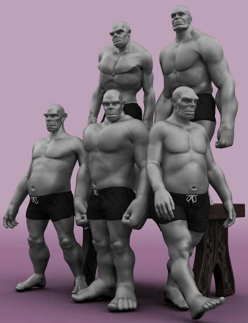 Giant Lore for Genesis 3 Male