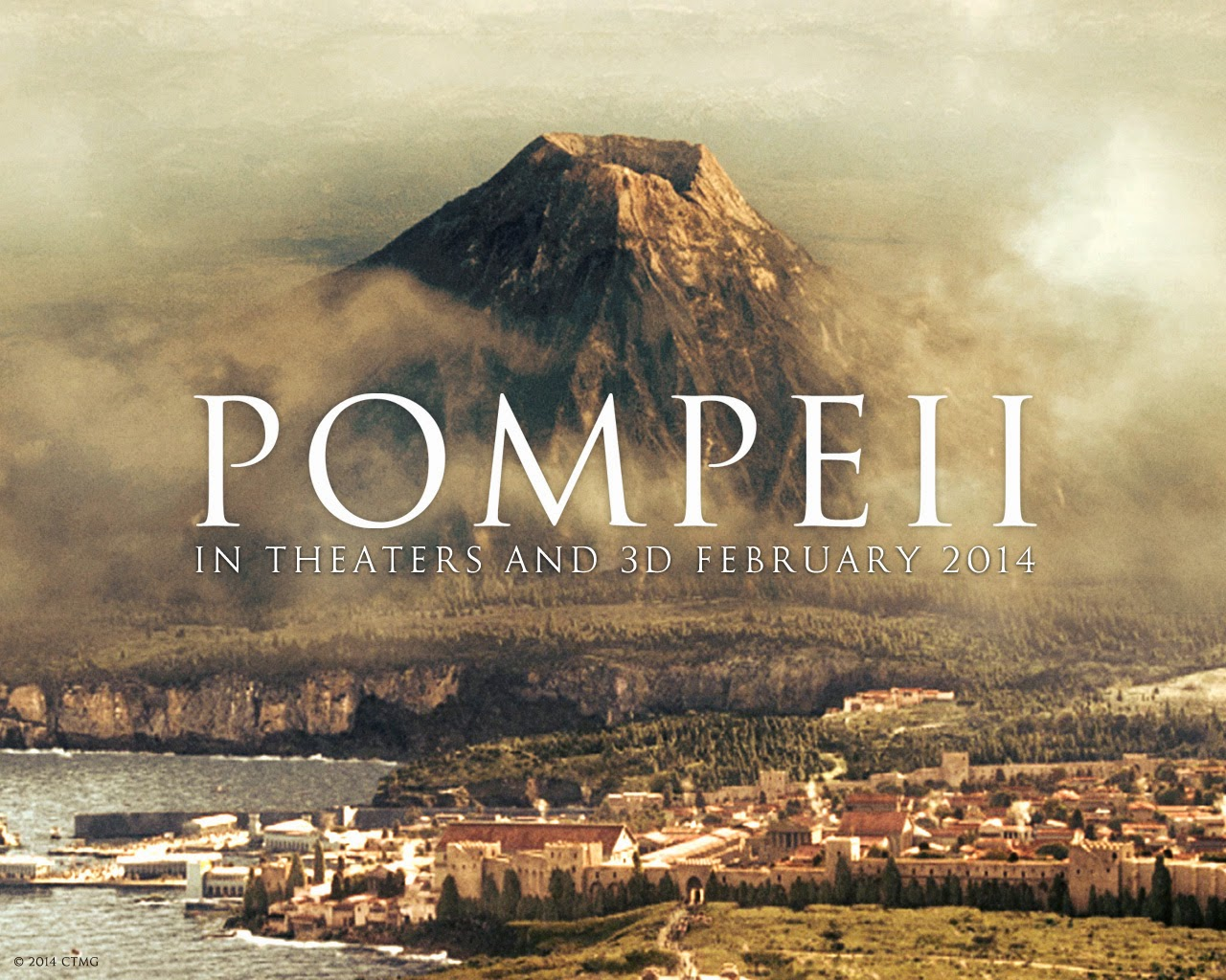 Movie Review: Pompeii (2014) - Peace & Transquility