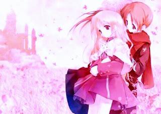 gambar anime pelukan