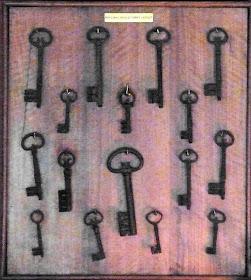 The keys of Corfe Castle