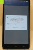 "Kontakte Sicherheit: HOMTOM HT30 3G Smartphone 5.5""Android 6.0 MT6580 Quad Core 1.3GHz Mobile Phone 1GB RAM 8GB ROM Smart Gestures Wake Gestures Dual SIM OTA GPS WIFI,Weiß"
