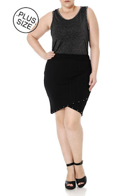 Look Plus Size Cintura Marcada
