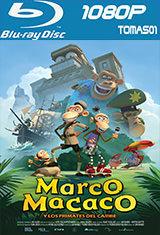 Marco Macaco y los primates del Caribe (2012) BDRip 1080p