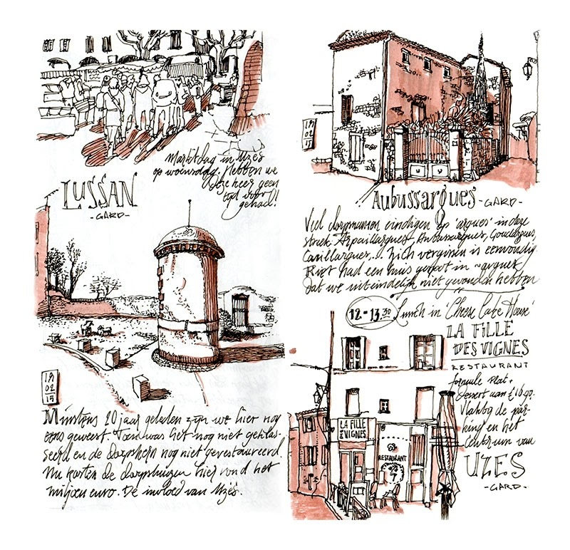 10-Lussan-and-Aubussargues-travelogue-dessinauteur-Urban-Sketches-and-Travel-Journals-on-Moleskine-www-designstack-co