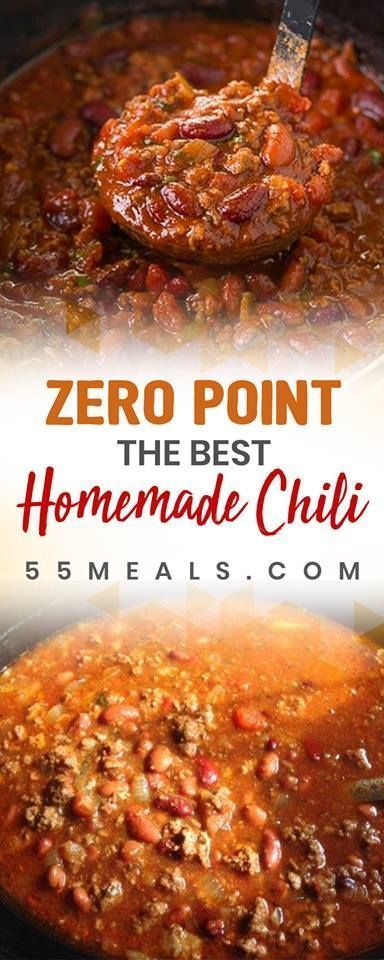 ZERO POINTS WEIGHT WATCHERS CHILI RECIPE