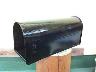 21 - カスタムペイント工程 郵便ポスト 奈良フレイムス