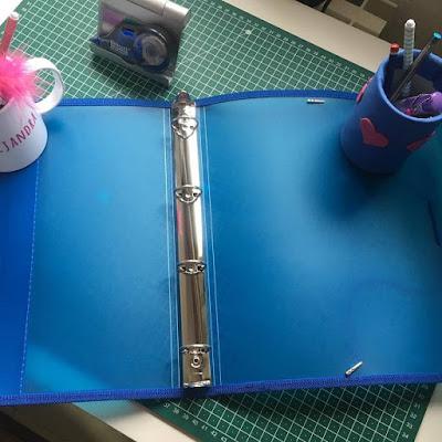 Office colorline box, archivador anillas, Carlin, material escolar,