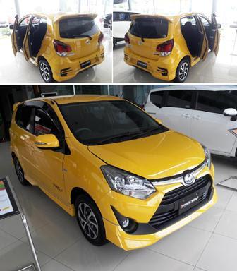 Kredit Toyota Agya Promo Terbaru 2018