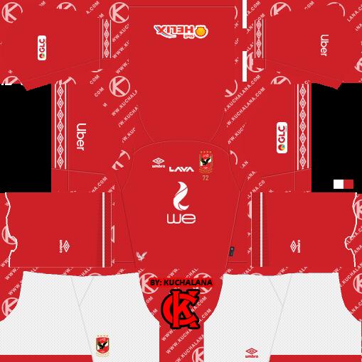 2e73e7fffac Al Ahly SC (Egypt) 2019/2020 Kit - Dream League Soccer Kits - Kuchalana