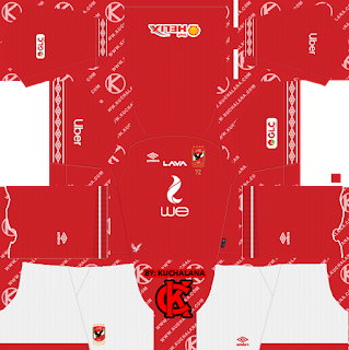 Al Ahly SC (Egypt) 2019/2020 Kit - Dream League Soccer Kits
