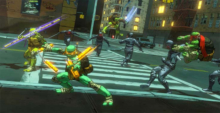 تحميل لعبة Teenage Mutant Ninja Turtles Mutants in Manhattan بروابط مباشر
