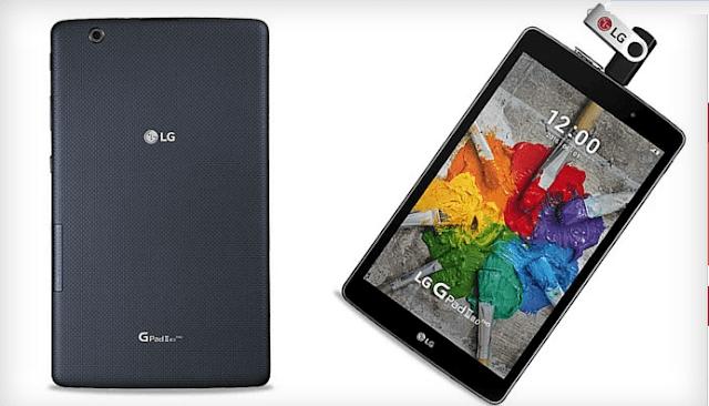 رسميا LG تكشف النقاب عن حاسبها اللوحي الجديد G Pad III 8.0