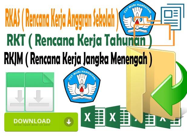 RKJM dan RKT Sekolah Dasar Lengkap dengan Program Kepala Sekolah