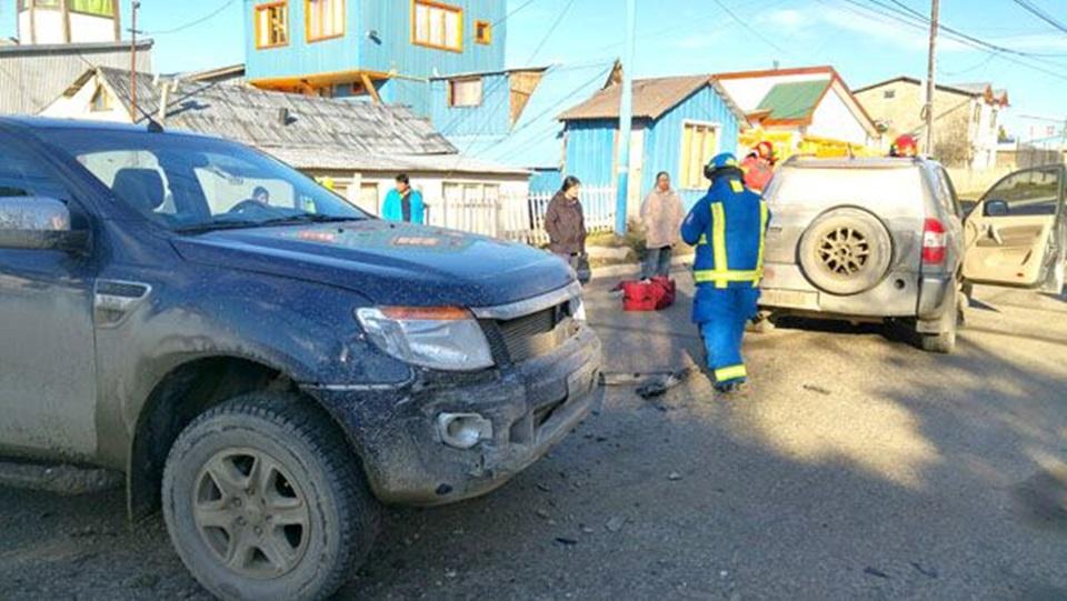 Cuatro choques en Ushuaia