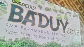 Spanduk Baduy