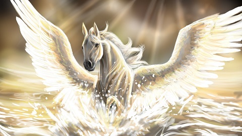 Pegasus Kanatlı At Efsanesi