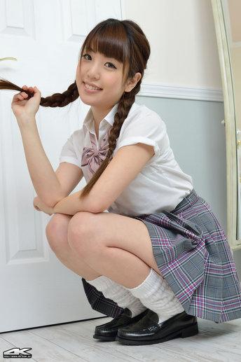 Mizuho Shiraishi Japanese Sexy Model Sexy Japan Schoolgirl -3882