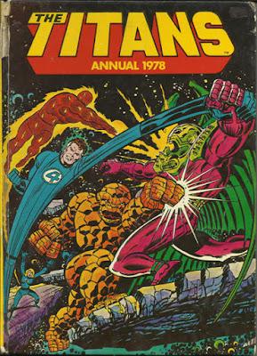 Marvel UK, Titans Annual 1978