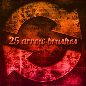 arrow brush photoshop