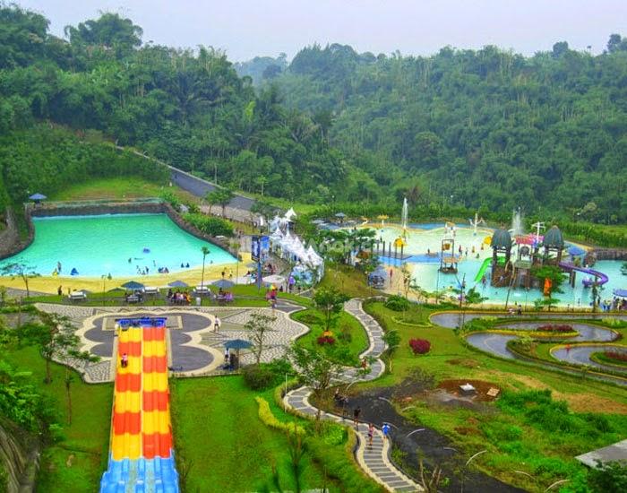 Keindahan Wisata di Kampung Gajah Bandung - Wahana Air