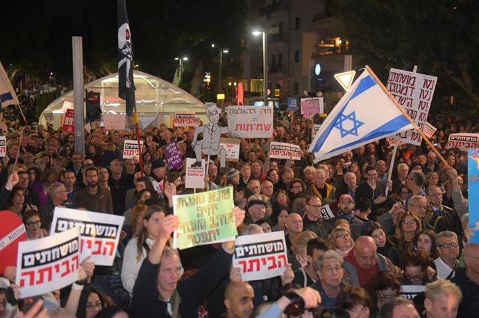 Puluhan Ribu Warga Israel Protes Kekebalan Hukum Netanyahu