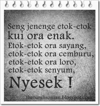Gambar DP BBM Kata Kata Patah Hati Bahasa Jawa