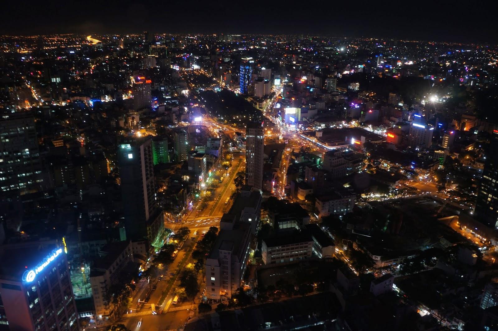 Ben Thanh as seen from Saigon Skydeck