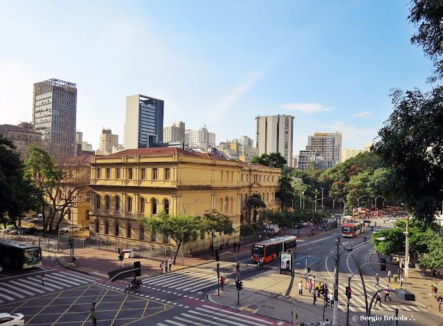 Vista panorâmica da Praça da Republica - Centro - São Paulo