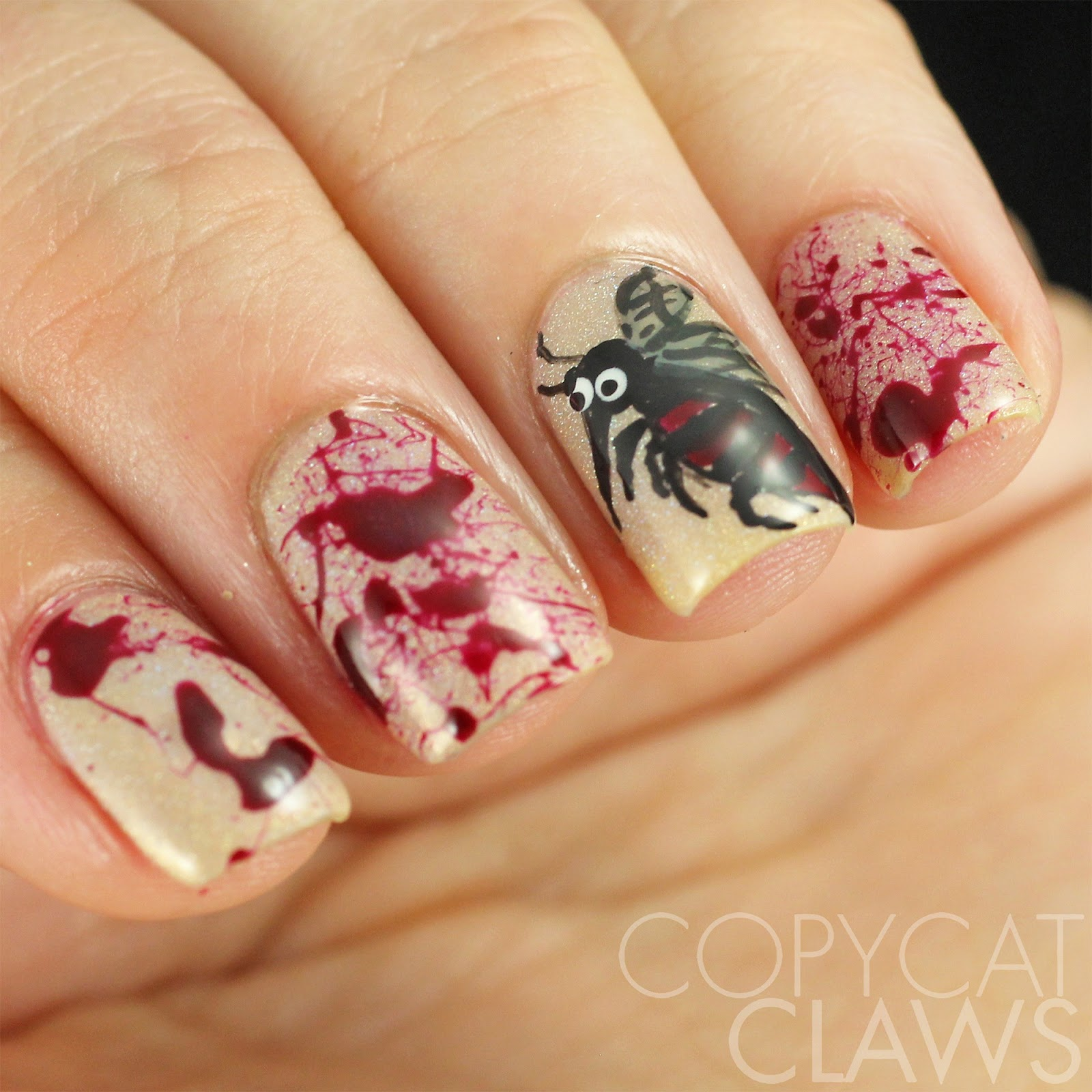 Copycat Claws: 40 Great Nail Art Ideas - Insects