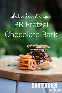 Vegan Peanut Butter Pretzel Chocolate Bark Recipe