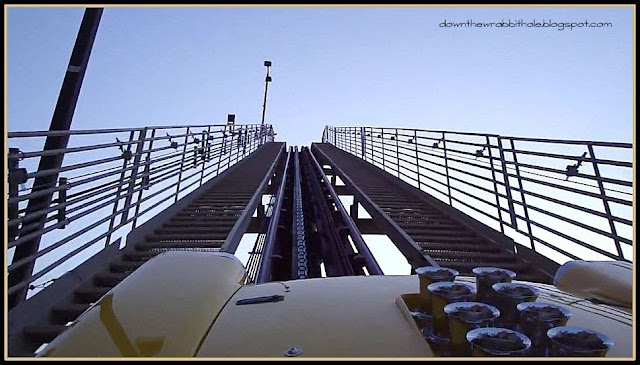 New York New York roller coaster, Las Vegas roller coaster