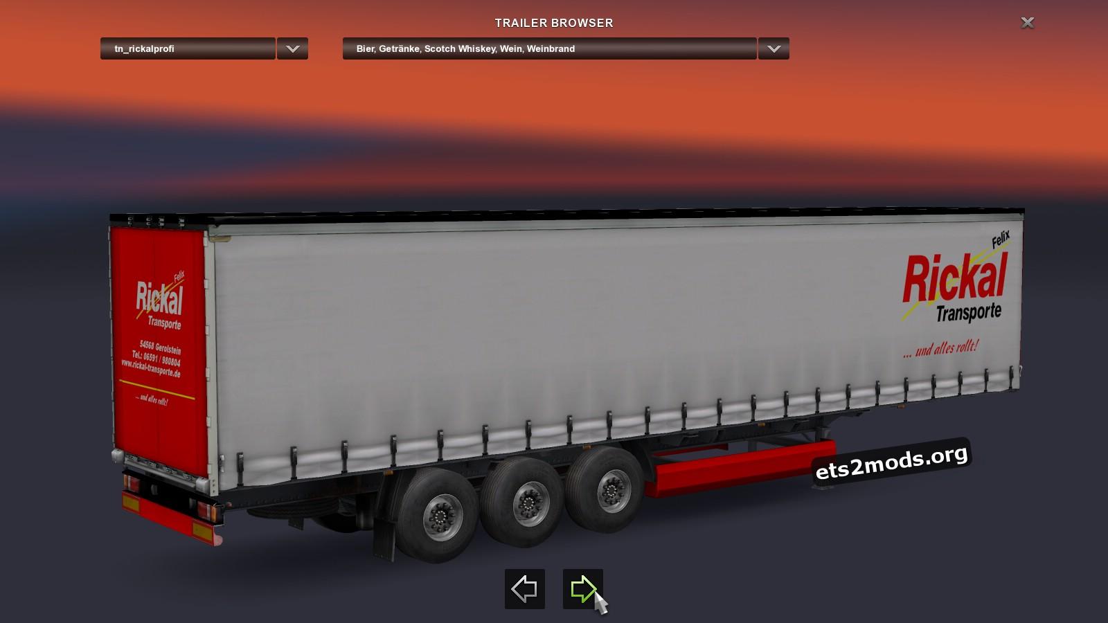 Standalone Rickal Transporte Trailer
