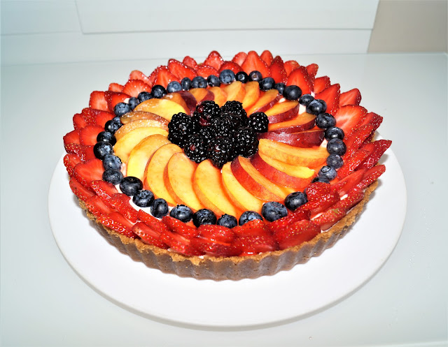 fresh fruit tart recipe, tart recipe, dessert recipe