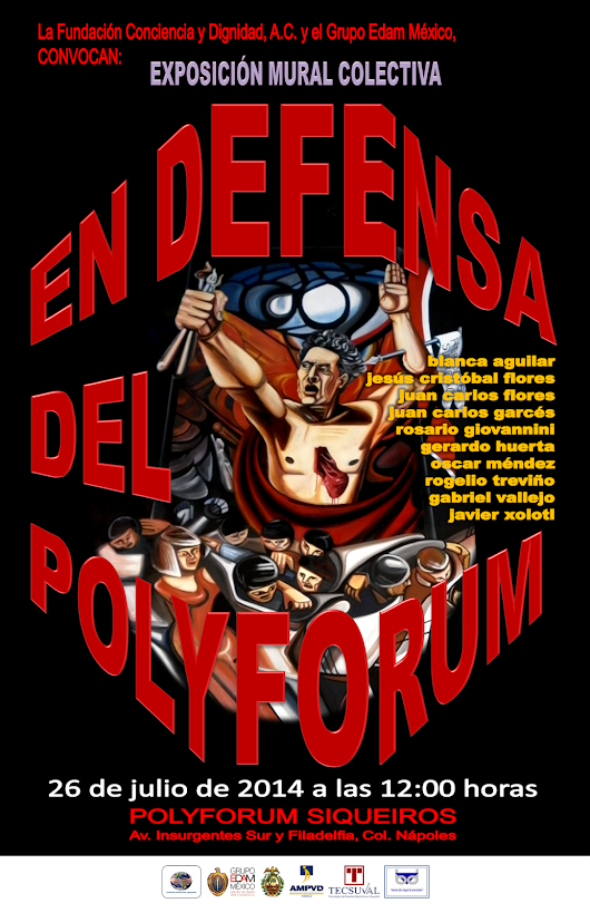"EXPOSICIÓN ""EN DEFENSA DEL POLYFORUM"""