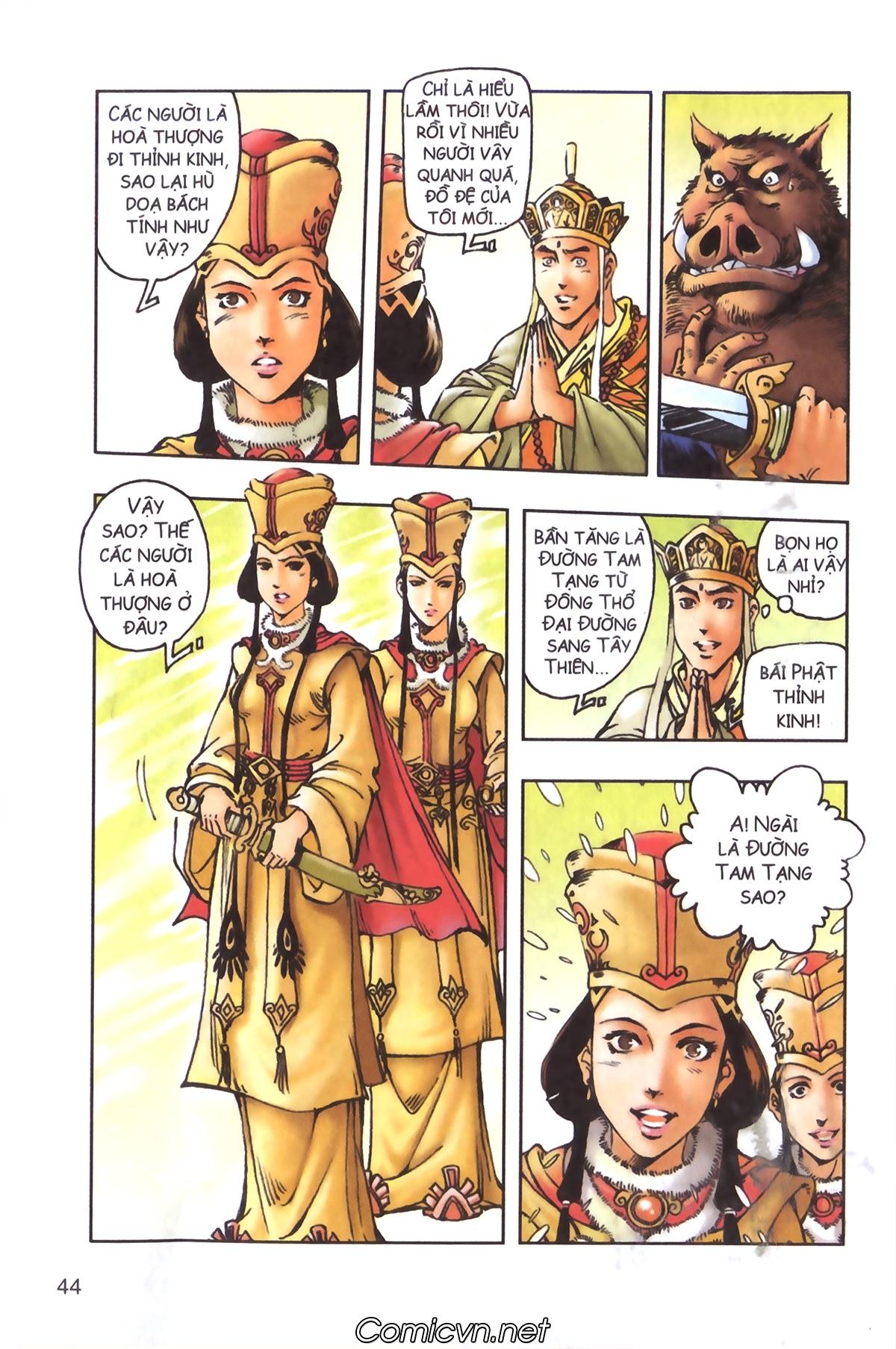 Tây Du Ký màu - Chapter 97 - Pic 14
