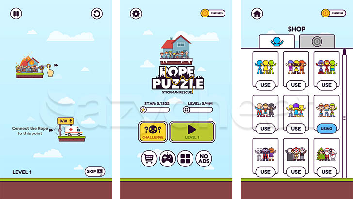 Rope Puzzle 1.0.20 Unlimited Coins