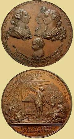 Medalla nacimiento Fernando VII, 1785