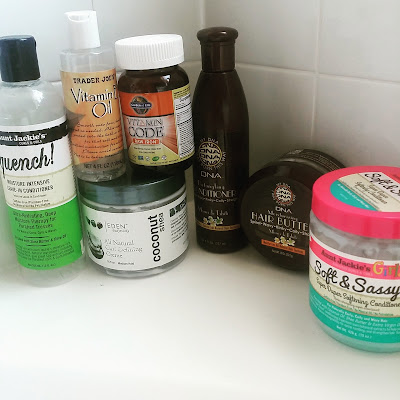 JULY NATURAL HAIR PRODUCTS EMPTIES DiscoveringNatural