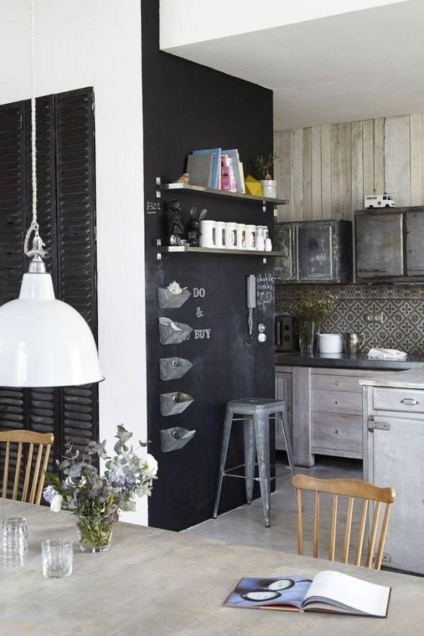 Mundo Diseño: Pizarras decorativas en las paredes