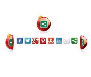 নিয়ে নিন আপনার Blog এর জন্য Christmas Decoration Social Bookmarking Gadget